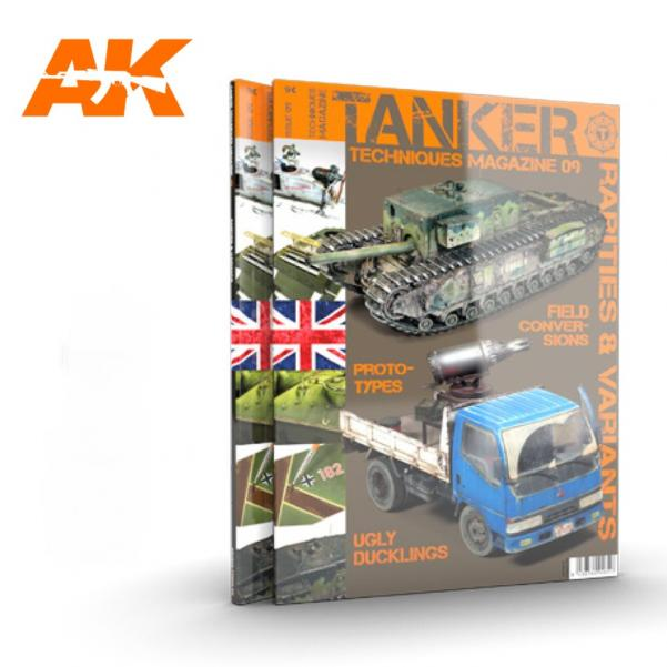 AK-Interactive: TANKER MAGAZINE 09 - Rarities & Variants