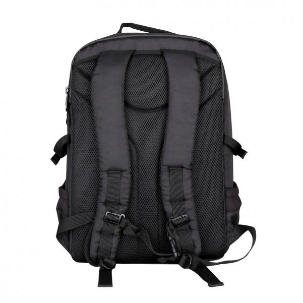 Pirate Labs: Black Card Carrying Backpack