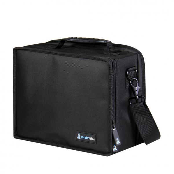 Pirate Labs: Black Small Case (Armor Tray, Small 2-Row, Black + 6 Dividers)