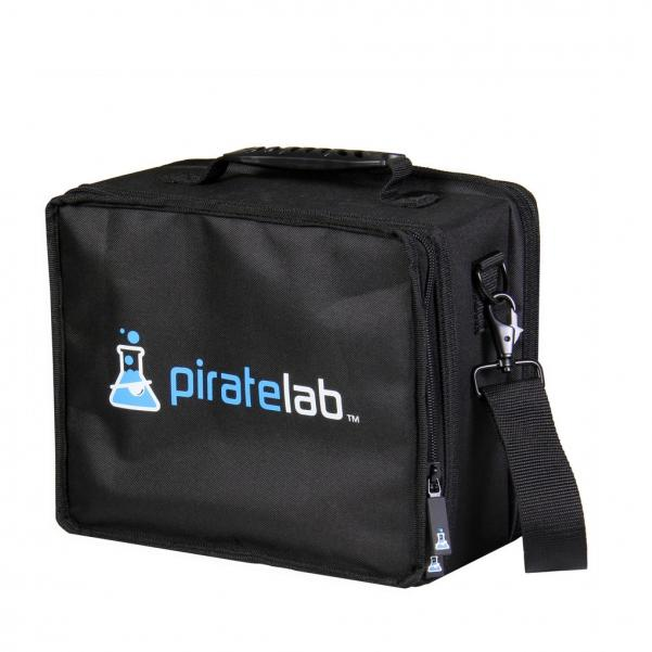 Pirate Labs: Pirate Lab Small Case (Armor Tray, Small 2-Row, Black + 6 Dividers)