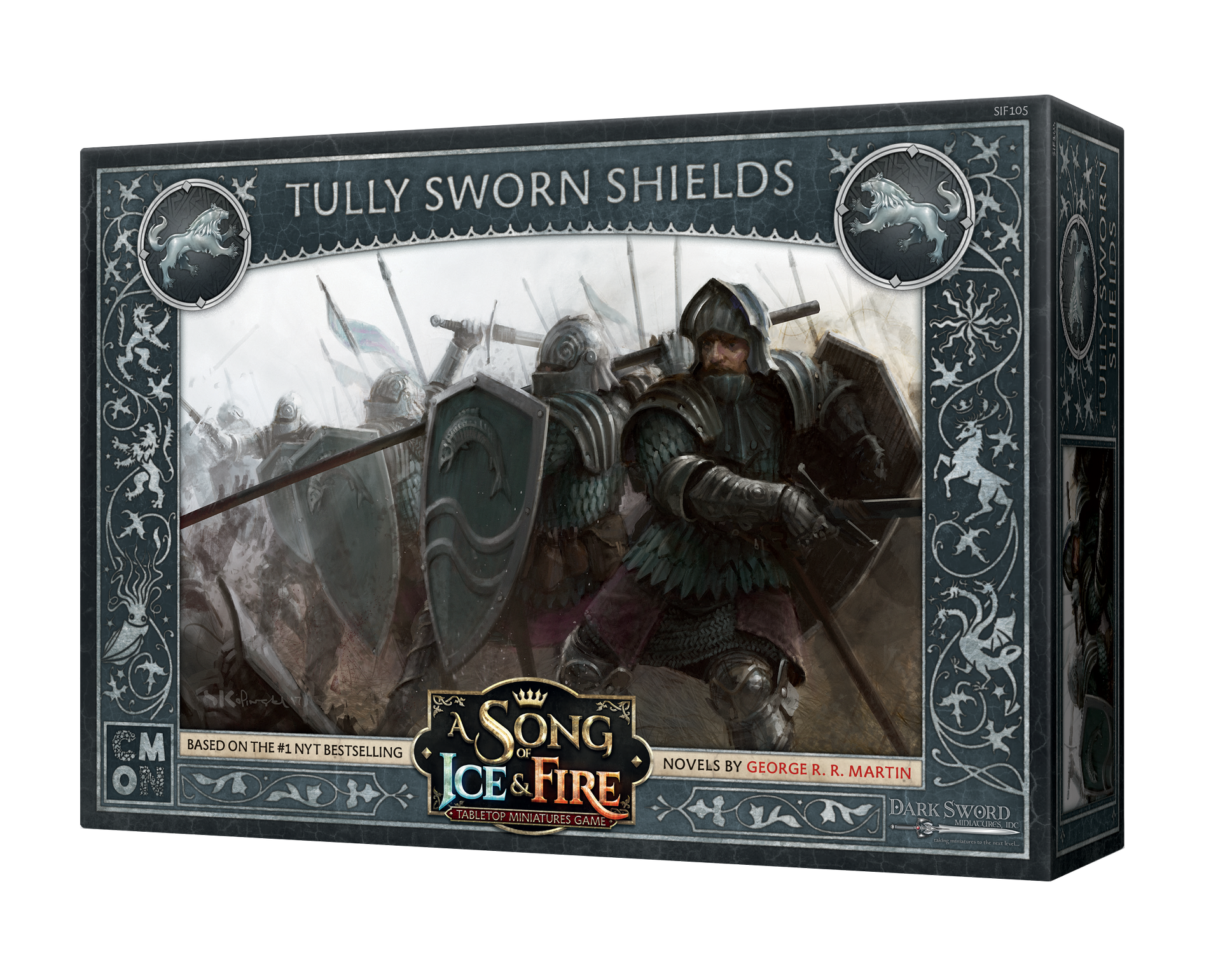 Song of Ice & Fire Miniatures Game: Tully Sworn Shields