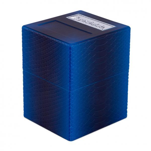 Pirate Labs: Defender Deck Box Texture Series - Dragon, Deep Blue