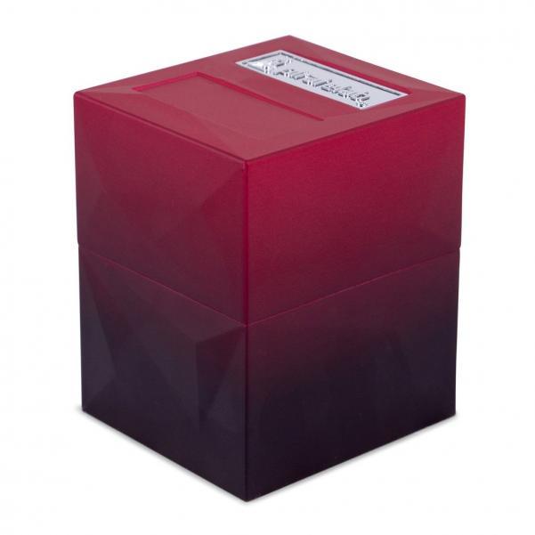 Pirate Labs: Defender Deck Box Texture Series - Mazarin, Ruby