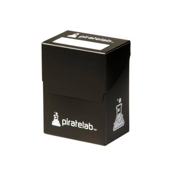Pirate Labs: 80 Card Basic Deck Box - Black