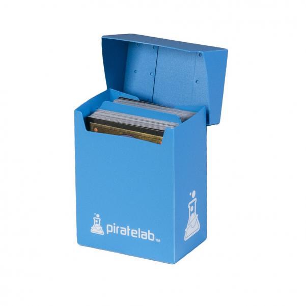Pirate Labs: 80 Card Basic Deck Box - Blue