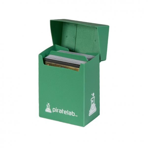 Pirate Labs: 80 Card Basic Deck Box - Green