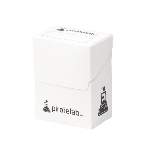Pirate Labs: 80 Card Basic Deck Box - White