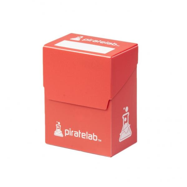Pirate Labs: 80 Card Basic Deck Box - Red