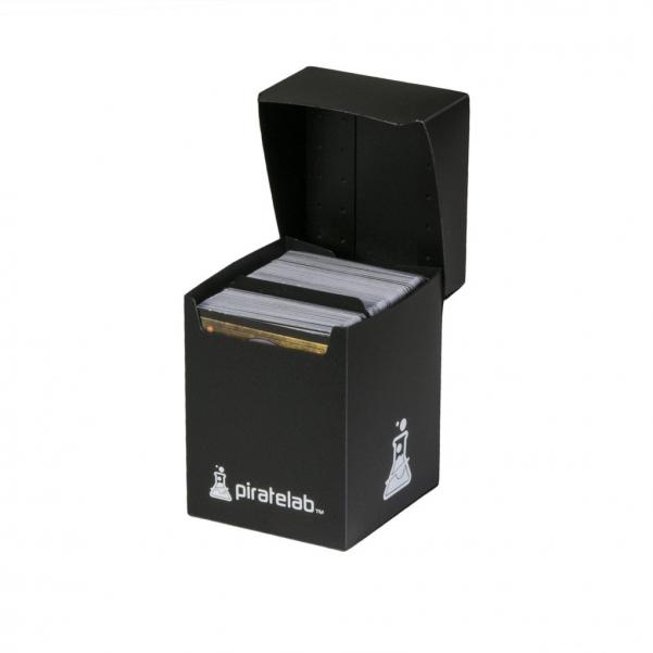Pirate Labs: 120 Card Basic Deck Box - Black