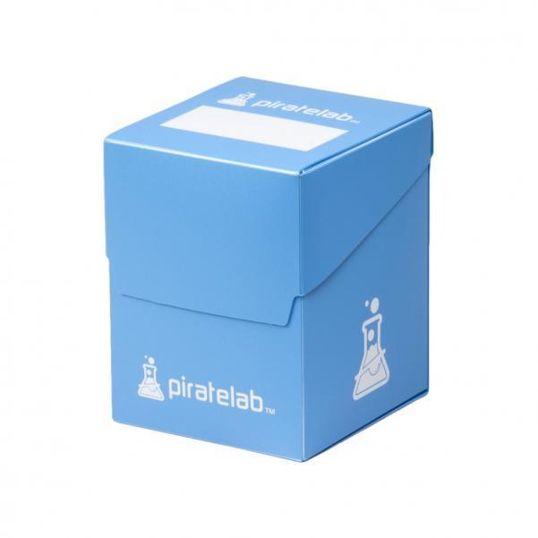 Pirate Labs: 120 Card Basic Deck Box - Blue