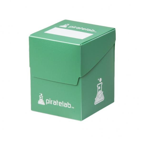 Pirate Labs: 120 Card Basic Deck Box - Green