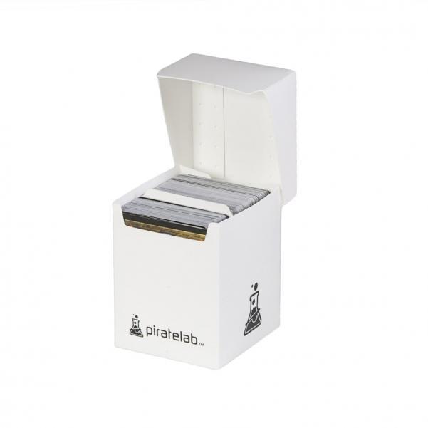 Pirate Labs: 120 Card Basic Deck Box - White