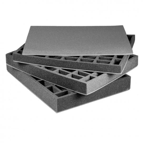 Pirate Labs: 1'' Full-Size Tray A - Black (1)