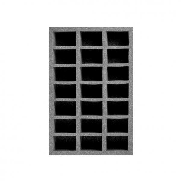 Pirate Labs: 2'' Half-Size Tray D - Black (1)