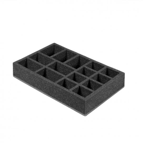 Pirate Labs: 2'' Half-Size Tray E - Black (1)