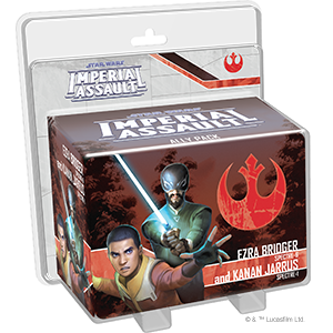 Star Wars Imperial Assault: Ezra Bridger and Kanan Jarrus Ally Pack