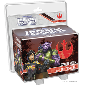 Star Wars Imperial Assault: Sabine Wren and Zeb Orrelios Ally Pack
