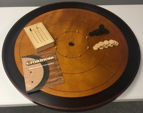Premium Hardwood Crokinole Board - 2017 Edition