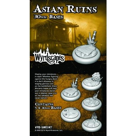Wyrdscapes: Asian Ruins 30MM Base