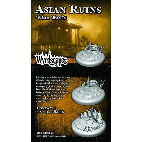 Wyrdscapes: Asian Ruins 40MM Base