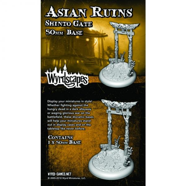 Wyrdscapes: Asian Ruins 50MM I Base (Shinto Gate)