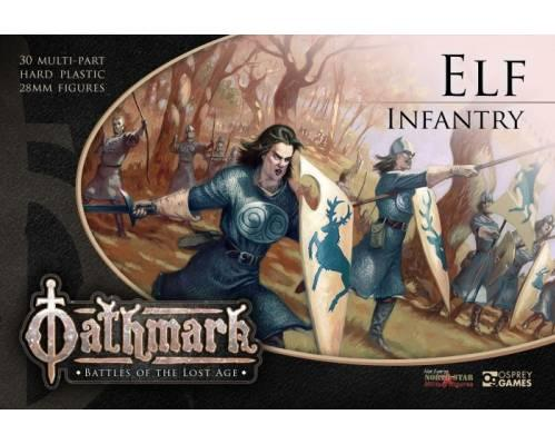 28mm Fantasy: (Oathmark) Elf Infantry