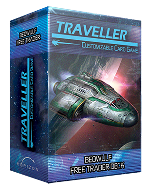 Traveller CCG: Ship Deck - Beowulf Free Trader