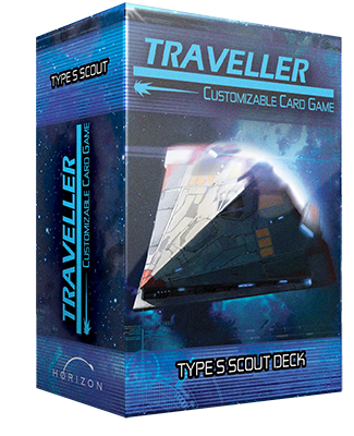 Traveller CCG: Ship Deck - Type S Scout