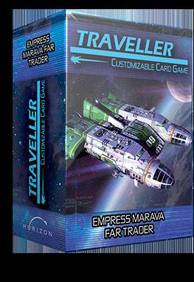 Traveller CCG: Ship Deck - Empress Marava Far Trader