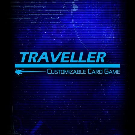 Traveller CCG: Card Sleeves - Traveller Captain's Card Back (50)