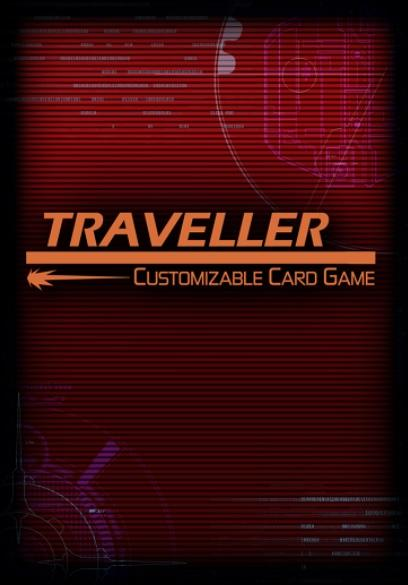 Traveller CCG: Card Sleeves - Traveller Adventure Card Back (50)