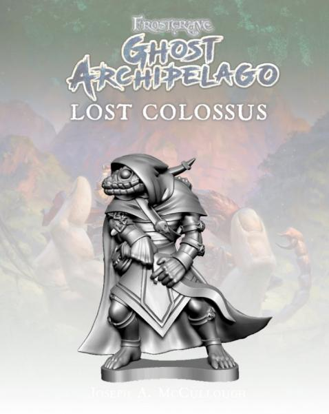 Frostgrave: Ghost Archipelago Snake-man Heritor I