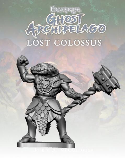 Frostgrave: Ghost Archipelago Snake-man Heritor II