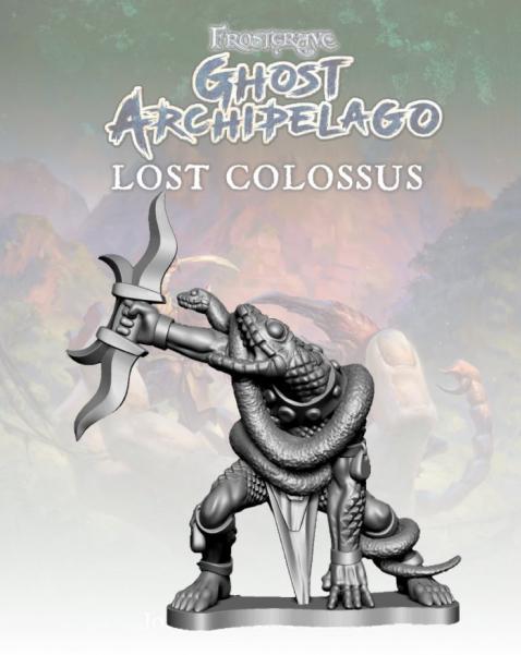Frostgrave: Ghost Archipelago Snake-man Warden II