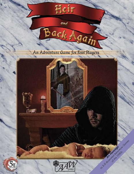 D&D 5th Edition: Heir & Back Again (5E)