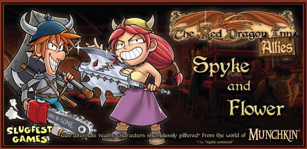 Red Dragon Inn: Allies - Spyke & Flower