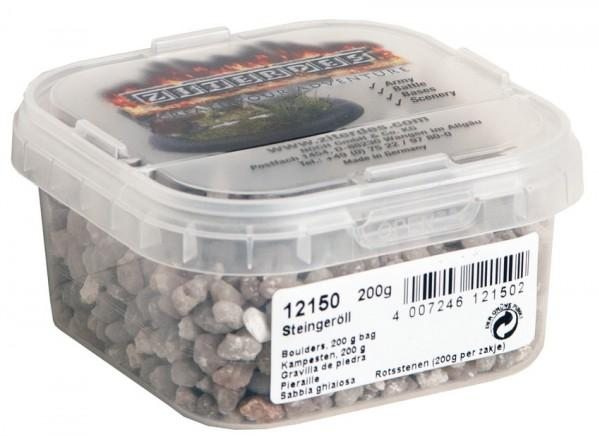 Terrain Accessories: Basing & Battleground Boulders, grey, rude