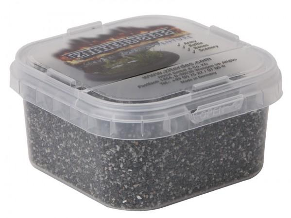 Terrain Accessories: Master Basing & Battleground Natural Stone Basalt, dark-grey, fine