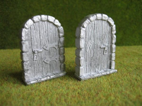 Terrain Accessories: Door, 2 pcs. door stopper right with handle
