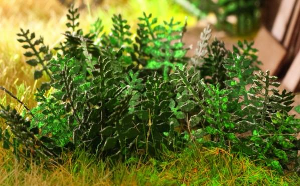 Terrain Accessories: Stinging nettle Laser-Cut minis, 10 plants