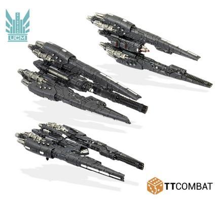 Dropfleet Commander: UCM Vancouver/Havana/Kiev