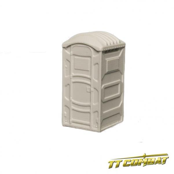 28mm Terrain: City Accessories - Portable Toilets Set (resin)