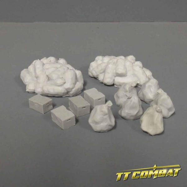 28mm Terrain: City Accessories - Trash Set (resin)