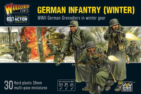 Bolt Action, 2nd Edition: Germans Infantry (Winter)