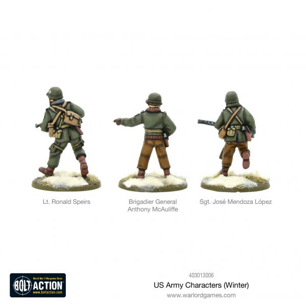 Bolt Action, 2nd Edition: US Army Characters (Winter)