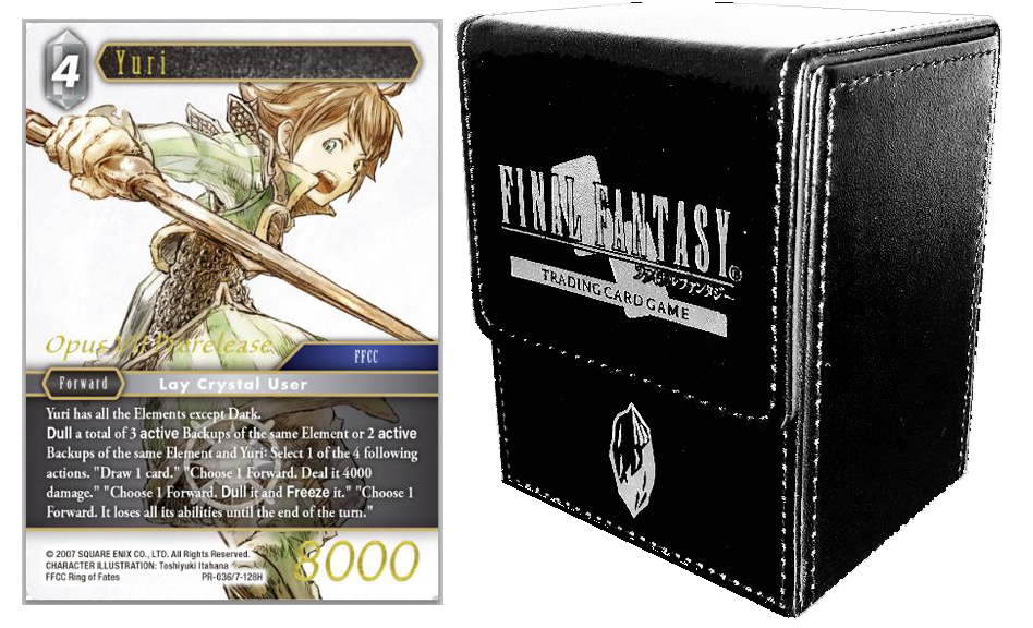 Final Fantasy TCG: Deck Case & Pre-Release Card