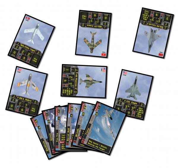 Locked-On (Modern Air Combat Card Game) Extra Card Decks