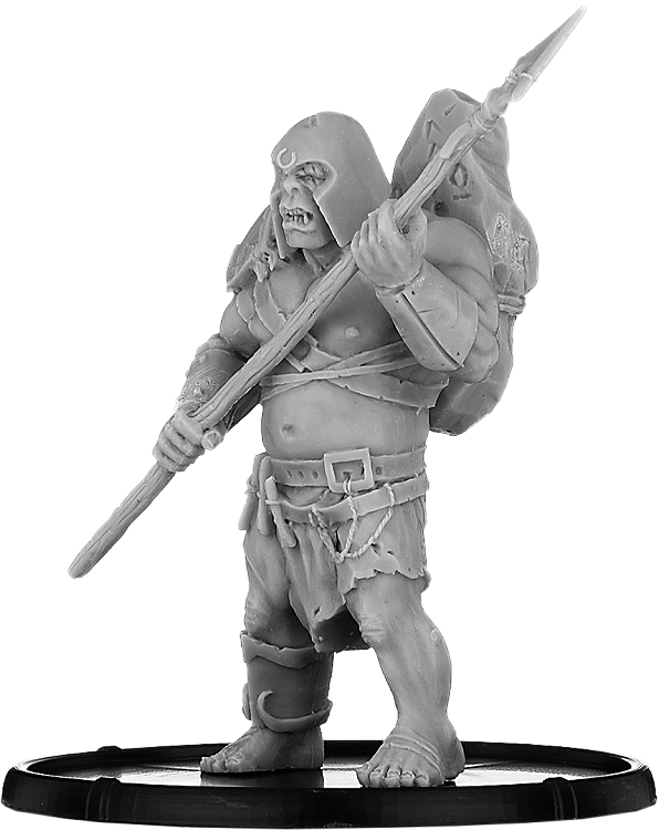 Darklands: Obogg, Oghur Warrior (resin)