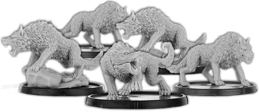 Darklands: Rēoc's Pack, Frēawulf Unit (metal)