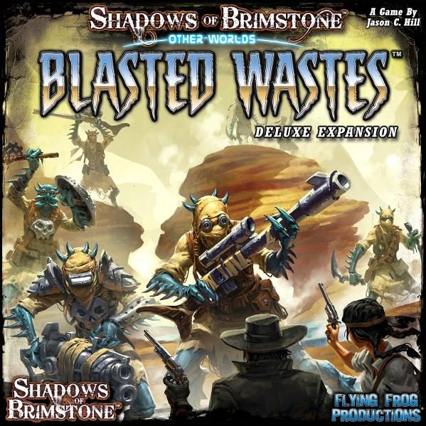 Shadows Of Brimstone: OtherWorlds - Blasted Wastes Deluxe Expansion